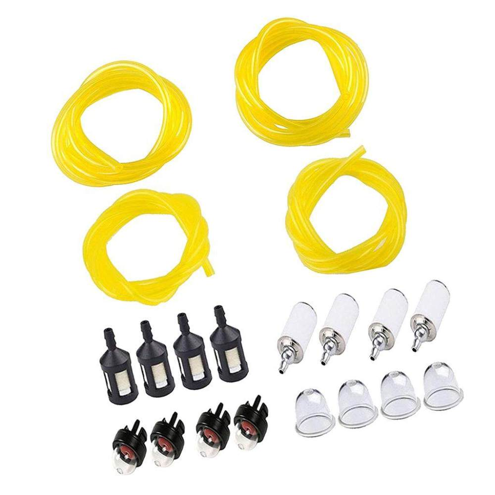 medium resolution of dolity primer bulb fuel line fuel filter replace kit for poulan weedeater chainsaw