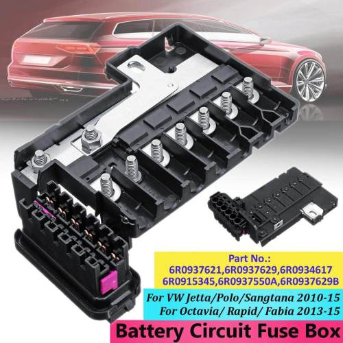 small resolution of  free shipping flash deal bat tery circuit fuse box for vw
