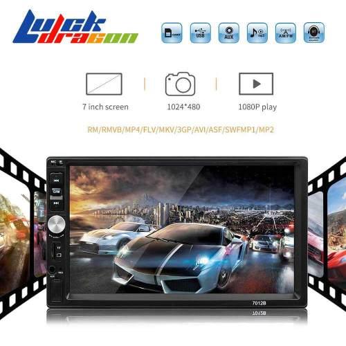 small resolution of luckdragon 2din car radio 7 hd autoradio mp5 multimedia player touch screen bluetooth fm usb