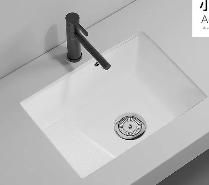 ceramic undercounter basin wash basin small washboard laundry tub washing machine companion balcony sink basin faucet isn t included