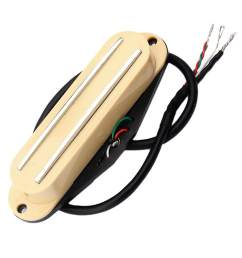 product details of baoblade dual rails single coil pickup for st sg lp electric guitars [ 1024 x 1024 Pixel ]