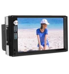 a5 7 inch 2 din press screen android 8 1 car radio stereo mp5 player driving recorder [ 1001 x 1001 Pixel ]