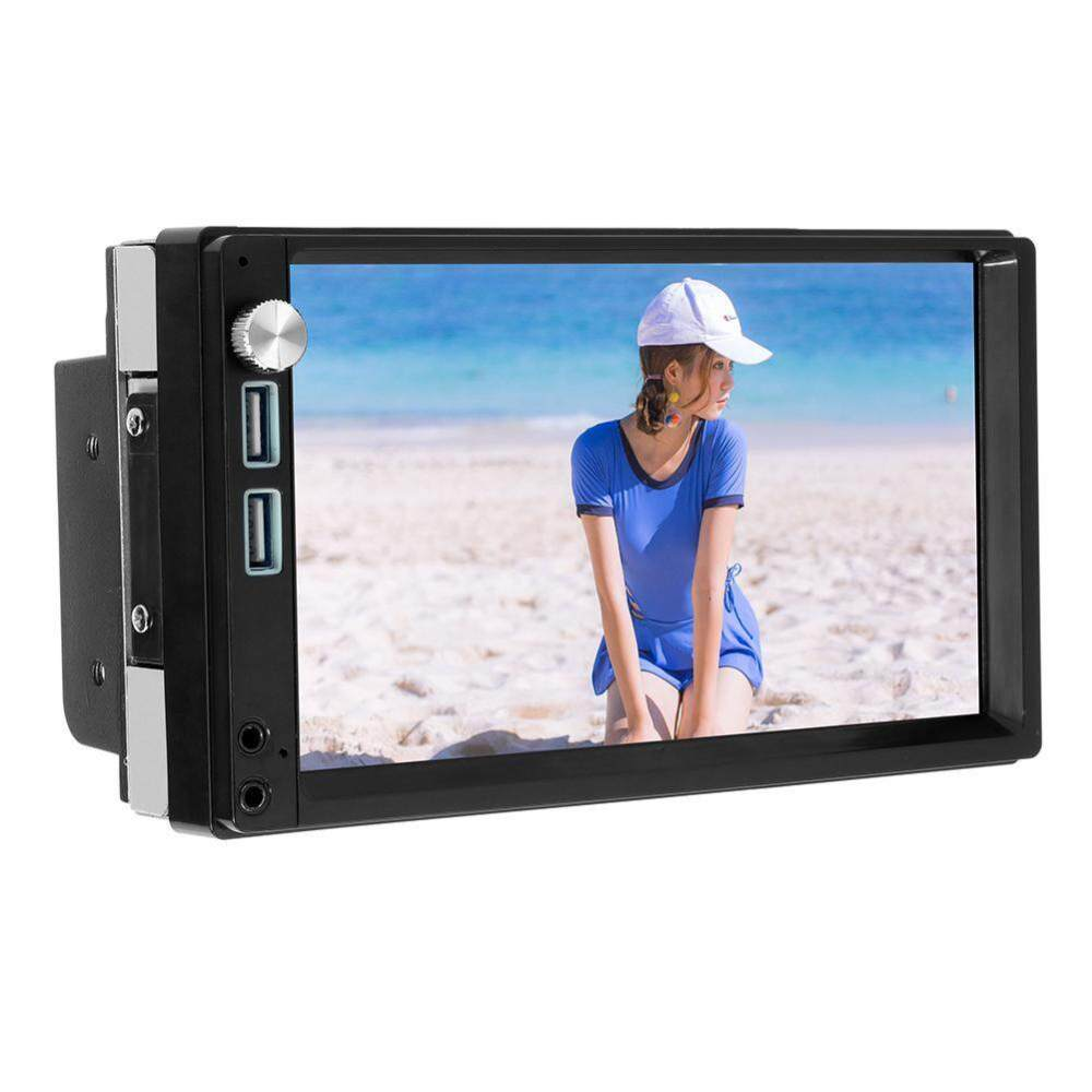 medium resolution of a5 7 inch 2 din press screen android 8 1 car radio stereo mp5 player driving recorder