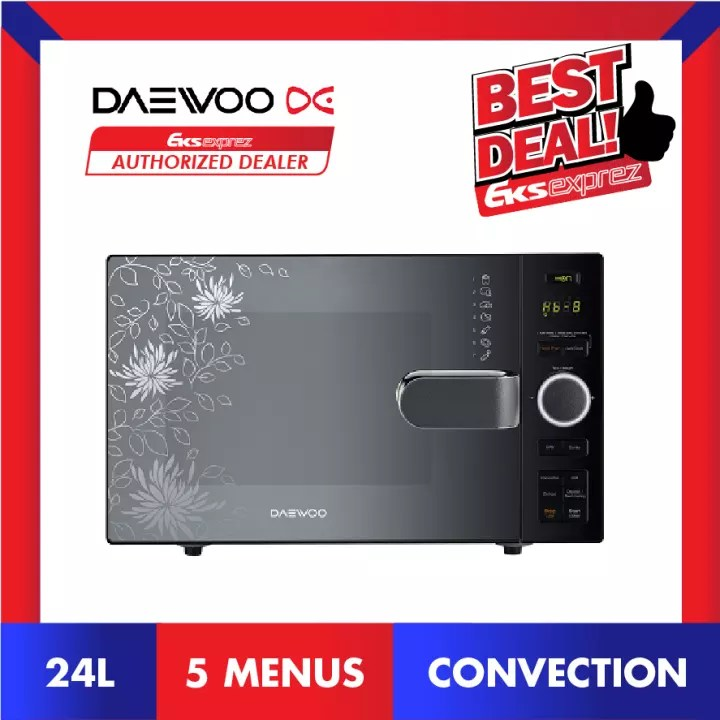 daewoo koc 24dmp 24l all in one convection oven air fryer oven grill combination microwave