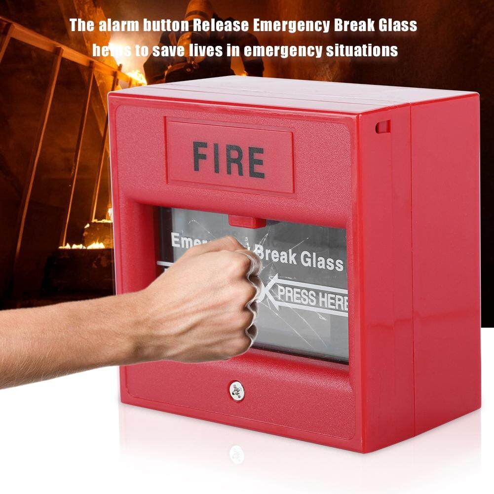 hight resolution of emergency exit fire alarm button release security glass break alarm switch