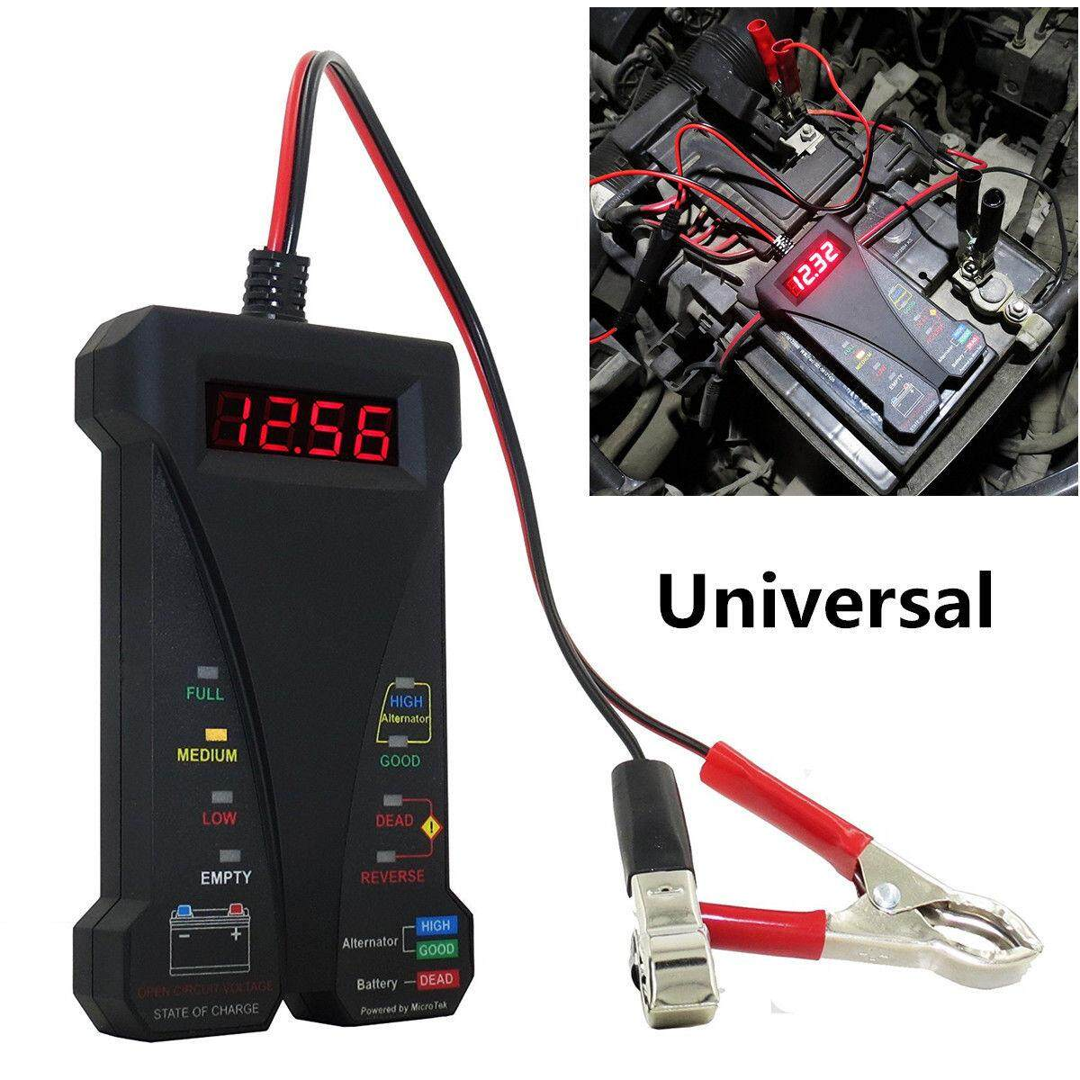 hight resolution of 12v lcd display digital battery tester voltmeter and charging system analyzer