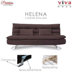Corner Sofa Bed Oslo Mini Storage Container Sleep Function New Extra Large Home Sofas Buy At Best Price In Malaysia Www Lazada Viva Houz Helena 3 Seater Full Fabric Cover Dark Brown