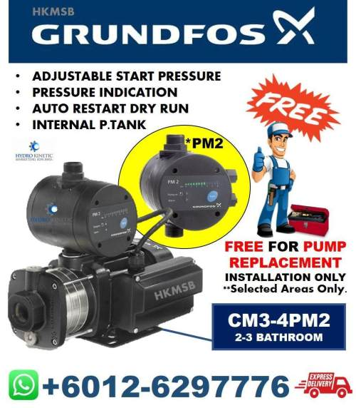 small resolution of grundfos cm3 4pm2 0 67hp free pump replacement installation service in kl