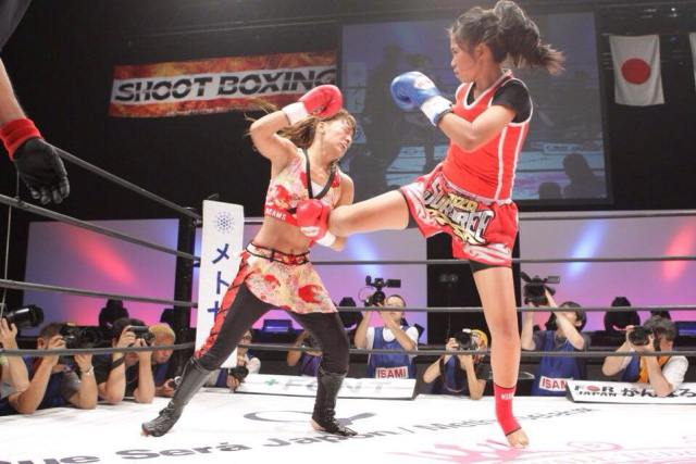 zaza sor aree muay thai fighter