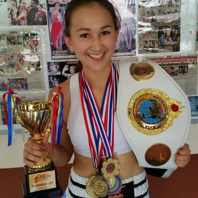 Jade Marrisa Sirisompan female Muay Thai fighter