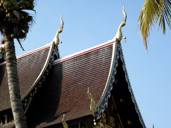 lanna style temple in chiang mai