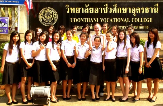 teaching at college in thailand