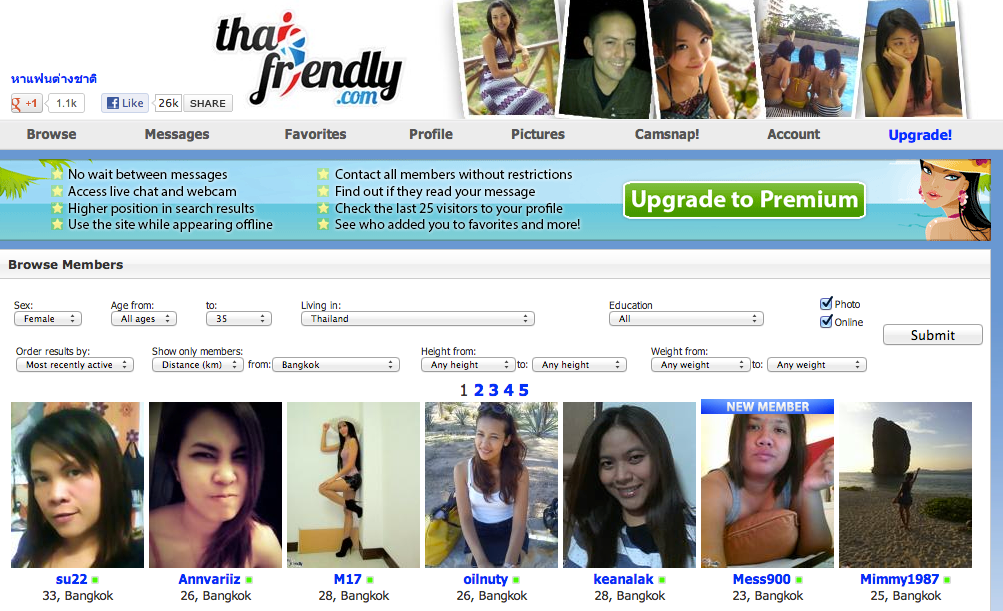 Free thai online dating
