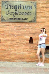 1st time chiang mai. tae pae gate