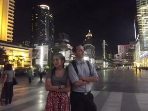 1st time bangkok - bro & sis