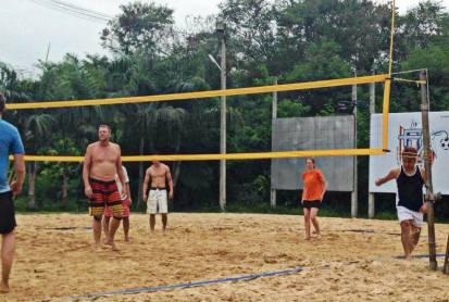 arsenal soccer school beachvolleyball