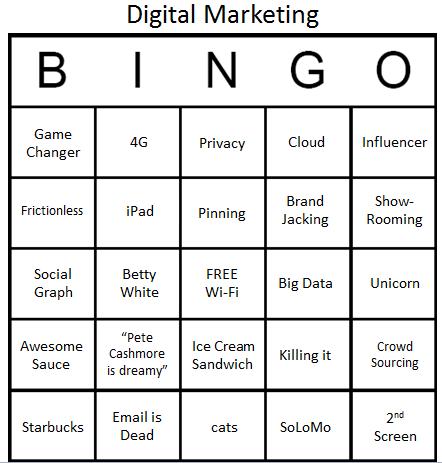 bingo bullshit