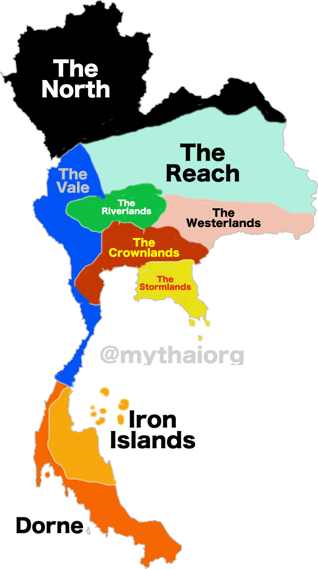 If Thailand was Westeros