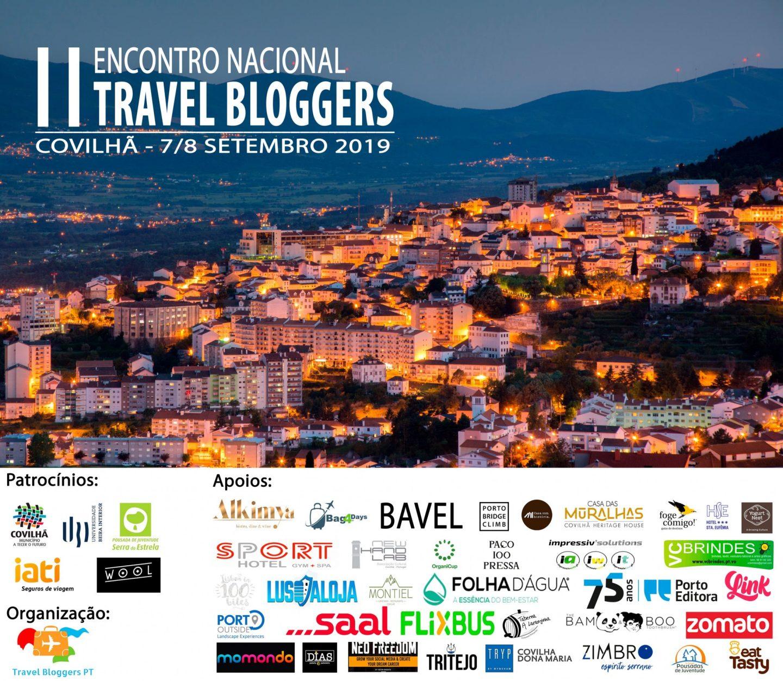 Apoios 2º Encontro Travel Bloggers