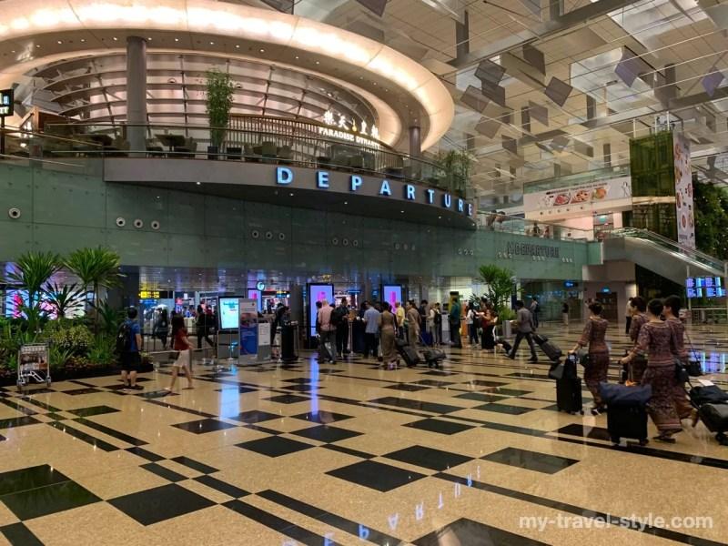 チャンギ空港出国