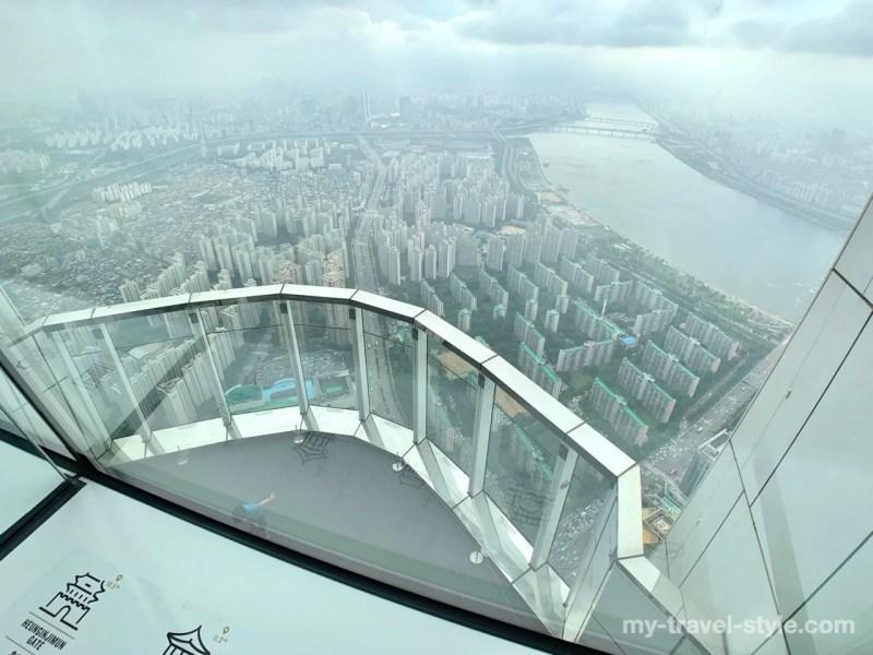 ロッテワールドタワー展望台ソウルスカイの見どころ