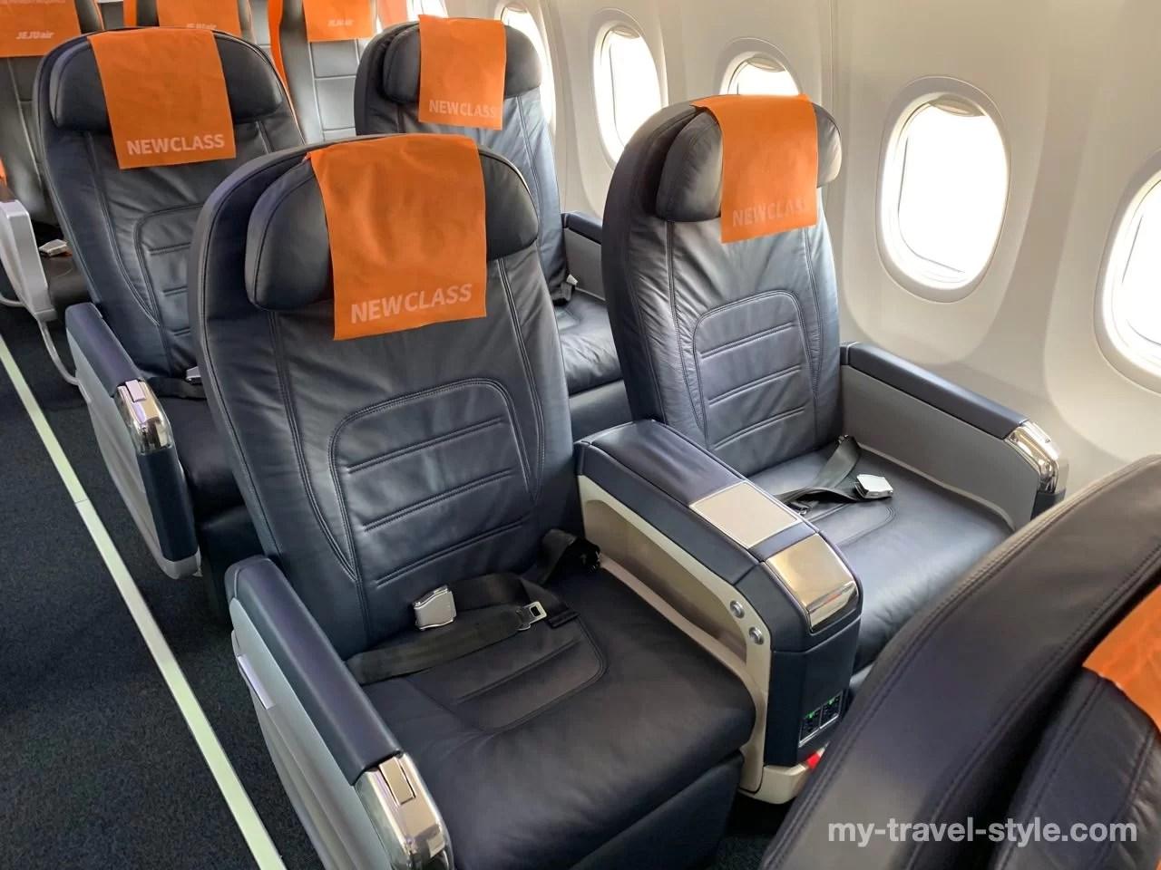 【チェジュ航空】プレミアムエコノミー「NEW CLASS」