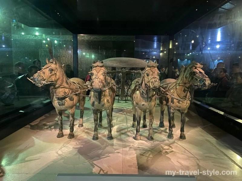 秦始皇兵馬俑博物館隊列庁
