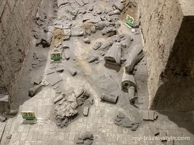秦始皇兵馬俑博物館 3号坑