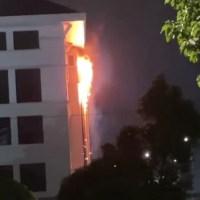 Hospital KPJ Ampang Puteri Terbakar [Video Awal]