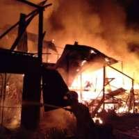 Lima rumah Pondok Fauzi musnah terbakar