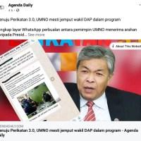 UMNO Di Fitnah Untuk Raih Populariti