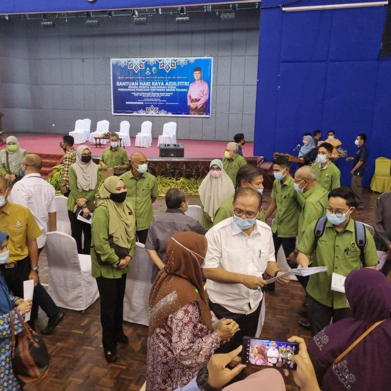 Wan Rosdy Wan Ismail, Menteri Besar Pahang