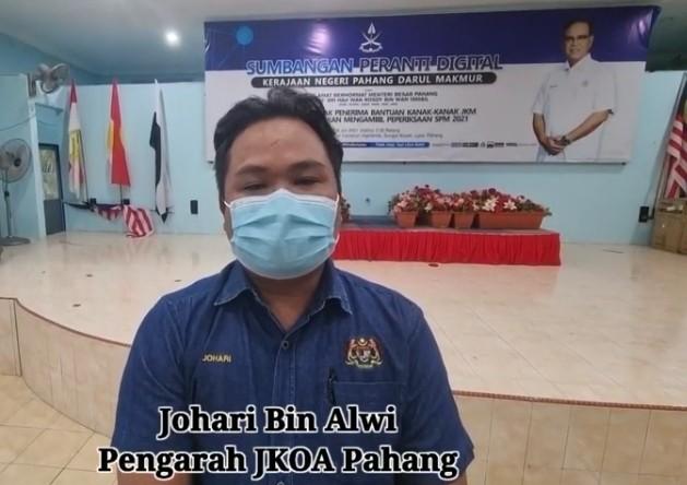 Pengarah JAKOA Pahang