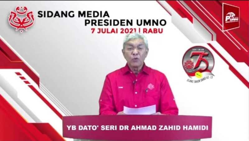 UMNO Tarik Sokongan Kepada Mahiaddin