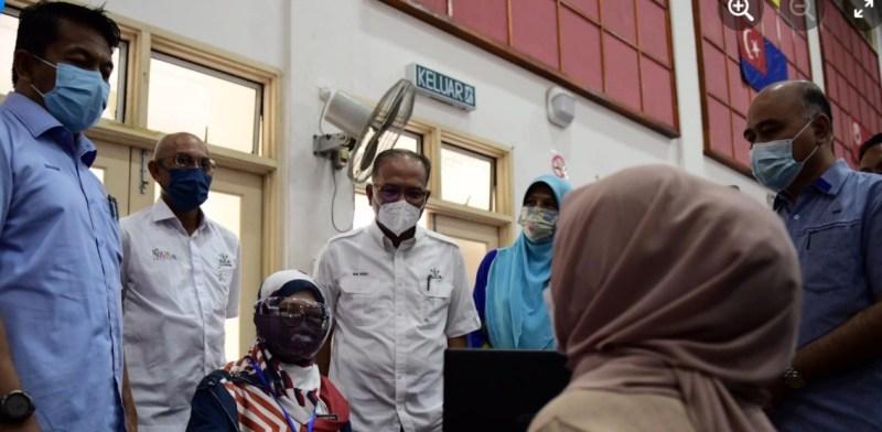 Lawatan MB Pahang
