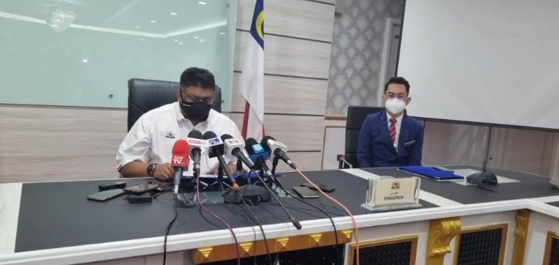 Sidang media Bubar DUN Melaka