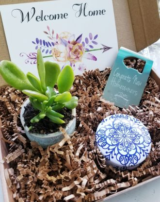 Housewarming gift set, New Home gift box, Send a gift, Gift from Realtor, client gift, first home purchase gift basket, Home Sweet Home Gift