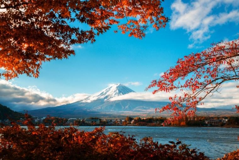 东京赏枫 河口湖