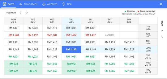kl perth flight ticket price