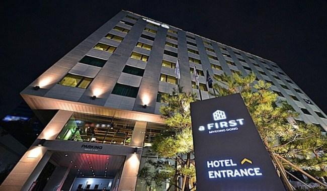 明洞 aFirst Hotel