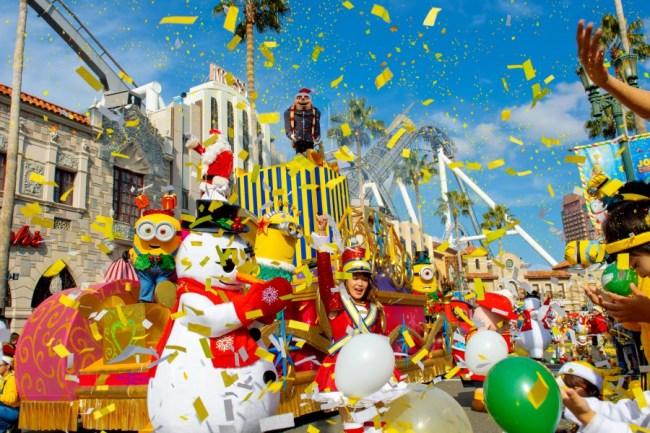 universal studios japan 圣诞