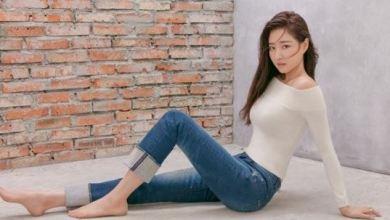Photo of Kim Sa-rang jeans no correction pit Lee Cooper Jeans