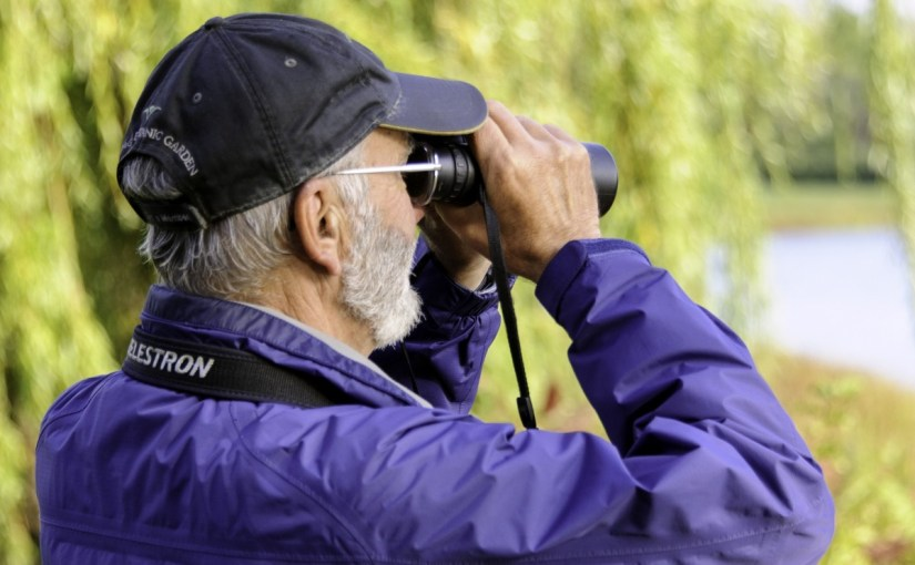 PHOTO: Birding at the Garden.