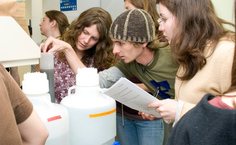No Day at the Beach: Summer Meant Research for REU Participants