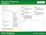 Budburst Report