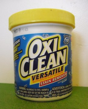 PHOTO: A 16 ounce container of Oxi Clean Versatile Stain Remover