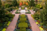 PHOTO: The Circle Garden at the Chicago Botanic Garden.