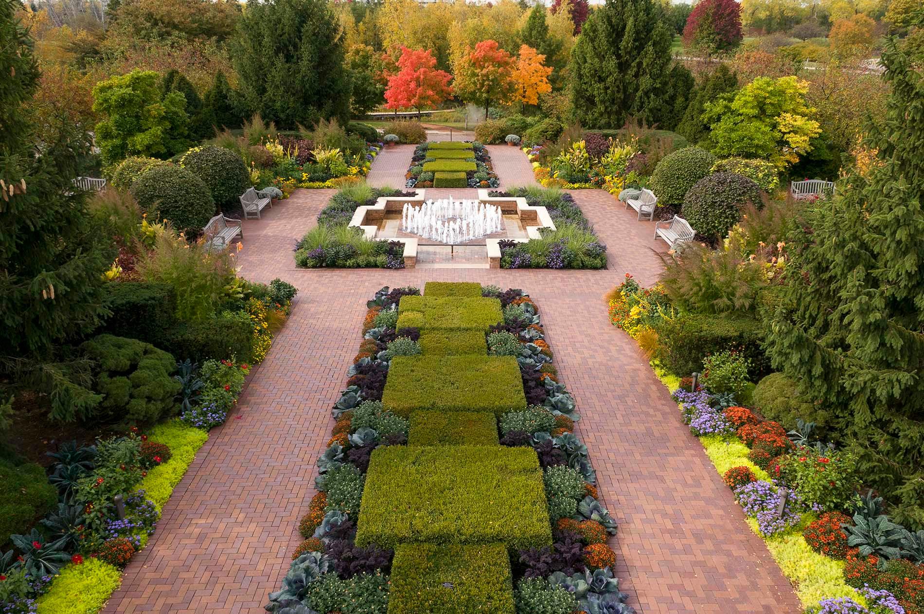 Gentil My Chicago Botanic Garden