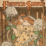 ILLUSTRATION: Flower Show postcard from Lenhardt Library digital archives.