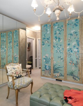 PHOTO: The Gracie Panels found by Cindy Galvin (of Bardes Interiors and Maze Home Store, Winnetka, IL).